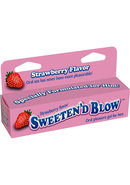 Sweeten D Blow Flavored Oral Pleasure Gel 1.5oz - Strawberry